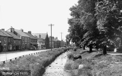 Swainby, The Beck And Village c.1960