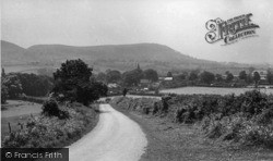 Swainby, View From Castle Hill c.1955