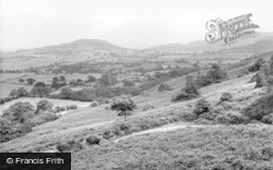 Swainby, View From Scarth Nick c.1955