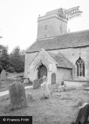 Swainswick, Church 1961