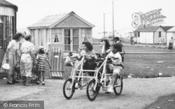 A Quadracycle, Seaview Holiday Camp c.1955, Swalecliffe