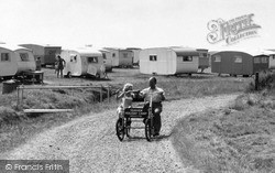 Cycling, Seaview Holiday Camp c.1955, Swalecliffe
