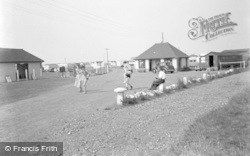 Entrance To Sea View Holiday Camp c.1950, Swalecliffe