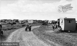 Road To The Beach, Seaview Holiday Camp c.1955, Swalecliffe