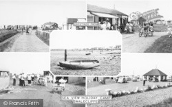 Seaview Holiday Camp Composite c.1955, Swalecliffe