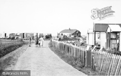 Seaview Holiday Camp, Shopping Centre c.1955, Swalecliffe