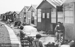 Seaview Holiday Camp, Tea At A Chalet c.1955, Swalecliffe