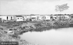Seaview Holiday Camp, The Lake c.1955, Swalecliffe