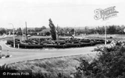 The Roundabout, Chestfield And Swalecliffe Halt c.1955, Swalecliffe