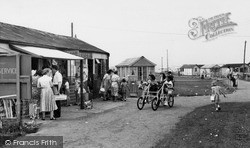 The Shopping Centre, Seaview Holiday Camp c.1955, Swalecliffe