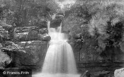 Scar House Falls 1896, Swaledale