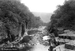 View From Keasdon Foss 1896, Swaledale