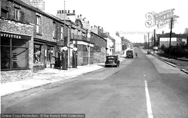 Photo of Swallownest, Worksop Road c1955, ref. S330009