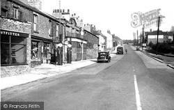 Swallownest, Worksop Road c.1955