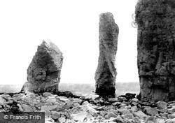 Swanage, Old Harry Rocks 1897