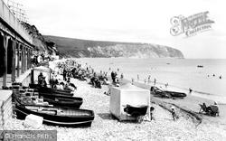 Swanage, The Beach 1918