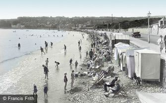 Swanage, the Beach 1925