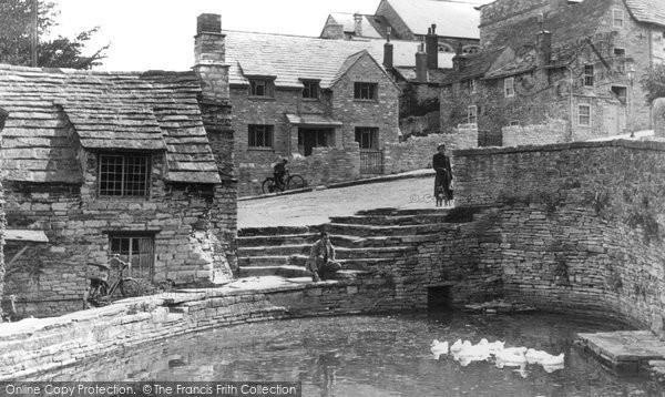 Swanage,Mill Pond c1960,Dorset