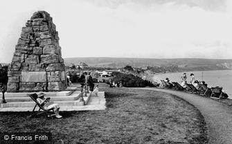 Swanage, War Memorial 1925
