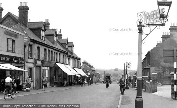 Swanley High Street 1951 Francis Frith