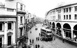 Castle Street 1925, Swansea