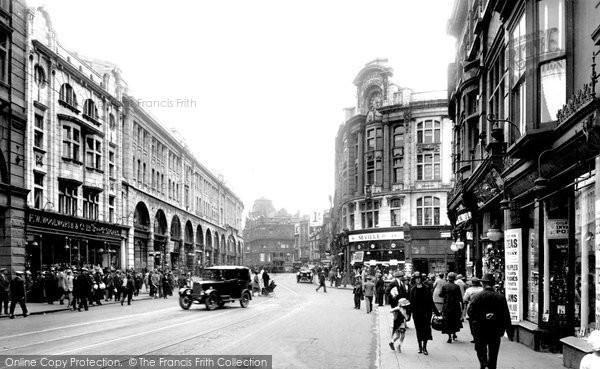 Photo of Swansea, Castle Street 1925