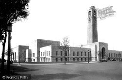 Swansea, Civic Buildings c.1960
