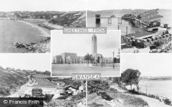 Swansea, Composite c.1955