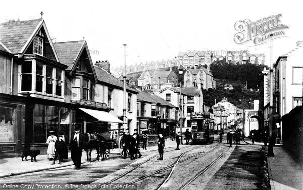 Photo of Swansea, Craddock Street 1906
