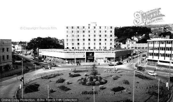 Photo of Swansea, Dragon Hotel c.1965