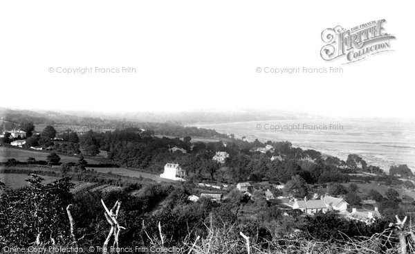 Swansea, from Mumbles 1893