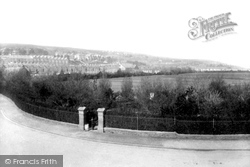 Swansea, From Railway Bridge 1898