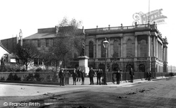 Swansea, Guildhall 1906