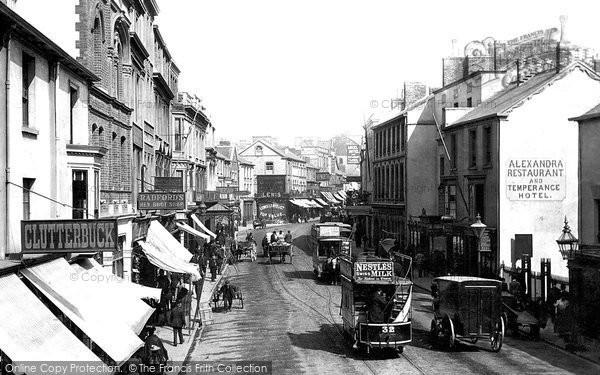 Photo of Swansea, High Street 1893