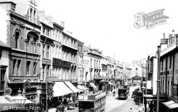 Swansea, High Street 1901