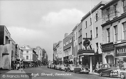 High Street c.1960, Swansea