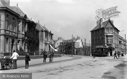 Swansea, Oystermouth Road c.1900