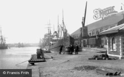 Swansea, South Dock 1906