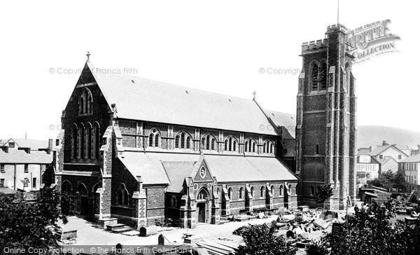 Photo of Swansea, St Mary's Church 1899