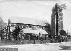 Swansea, St Mary's Church 1899