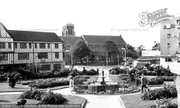 Swansea, St Mary's Church c.1965