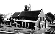 Swansea, St Mary's Church c1965