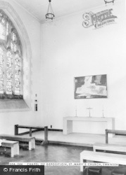 Swansea, St Mary's Church, Chapel Of Deposition c.1965