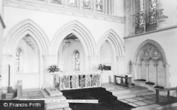 Swansea, St Mary's Church, High Altar c.1965