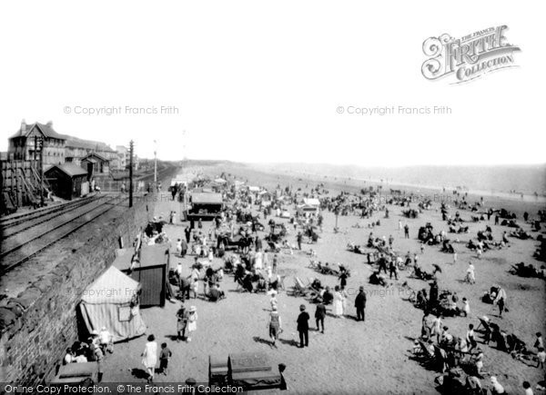 Photo of Swansea, The Sands 1925