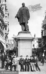 Swansea, The Vivian Statue 1896