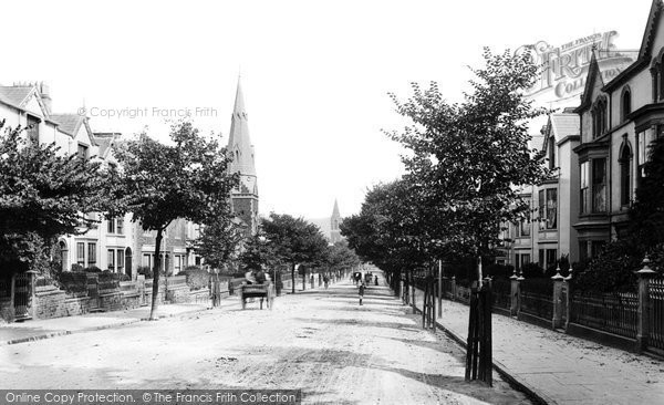 Photo of Swansea, Walter Road 1893