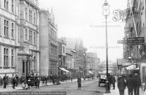 Photo of Swansea, Wind Street 1902