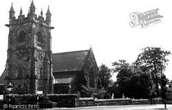 St Andrew's Church c.1955, Swanwick