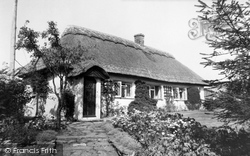 Sway, Fir Tree Cottage c.1955